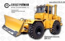 Bulldozer, gradisar DM-15-T on the basis of the K-701, 703
