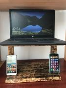 Дерев'яна підставка для ноутбука