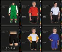 Футбольная форма, пошив на заказ футбольной формы
