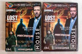 Игровой диск PC DVD Game Сборник 10 в 1