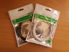 Новый MicroUSB кабель длиной 1м и 1.5м для ANDROID
