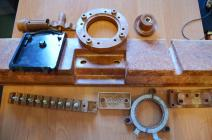 Parts from thermosetting materials (type AG-4, vers)