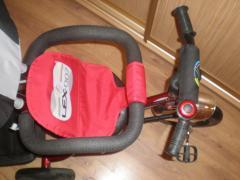 Продам 3-колесный велосипед Lex-007 с родит. ручкой (НАДУВНЫЕ КО