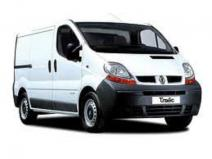 Renault trafic - disassembly and new parts