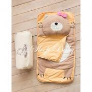 Спальний плед-конверт Кішечка дітям (розміри будь-які)
