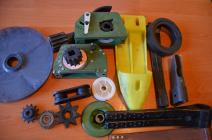Spare parts for agricultural machinery