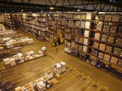 The foreman of the warehouse, the leader of the group. Work in warehouses germ
