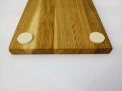 Wooden Board with clip for fish cleaning station Fish Grinder